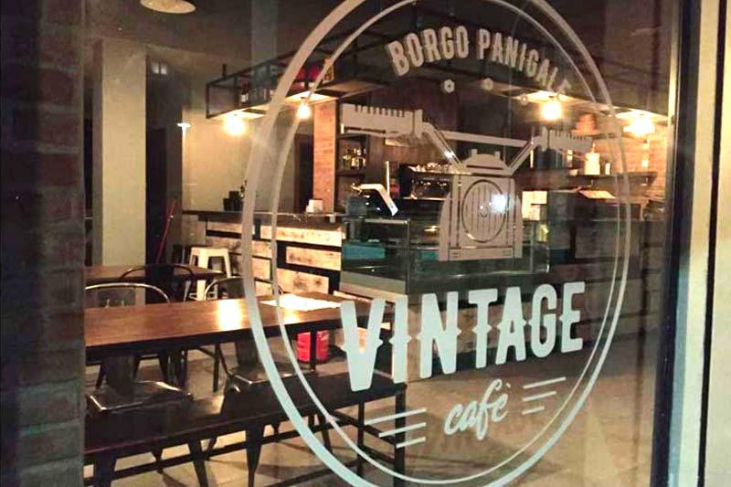 Vintage Cafe Menu Digitale con QR-code