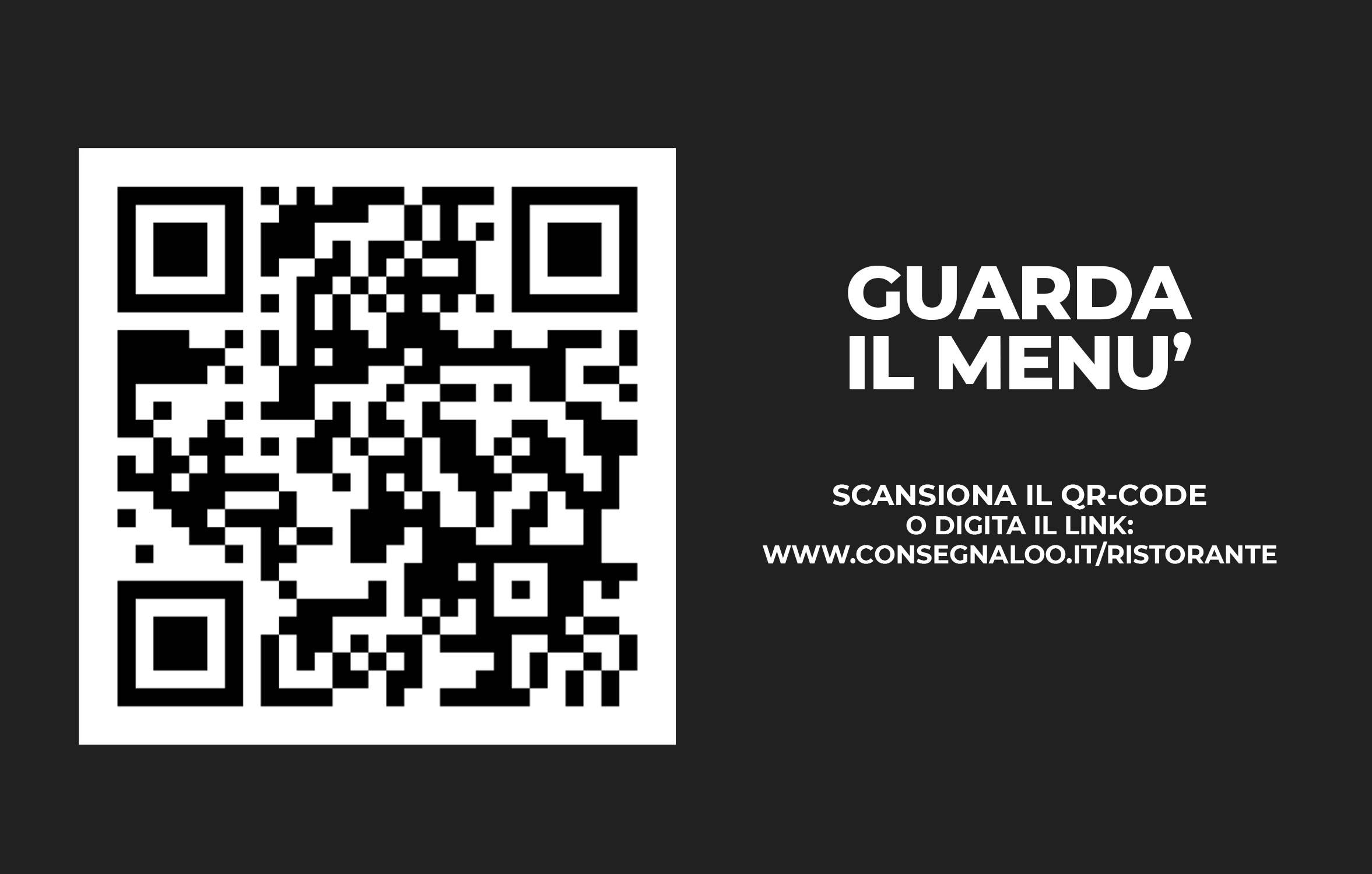 Biglietto da visita Menu Digitale con QR-code 02